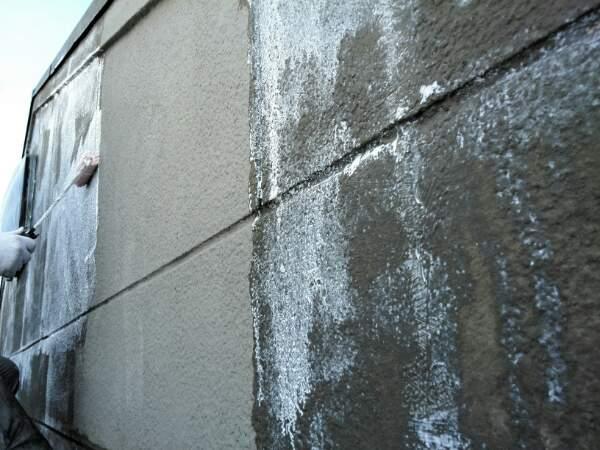 小川邸 カチオン下塗り途中