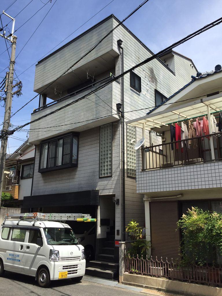 兼本邸 東大阪市 外観 施工前 (2)