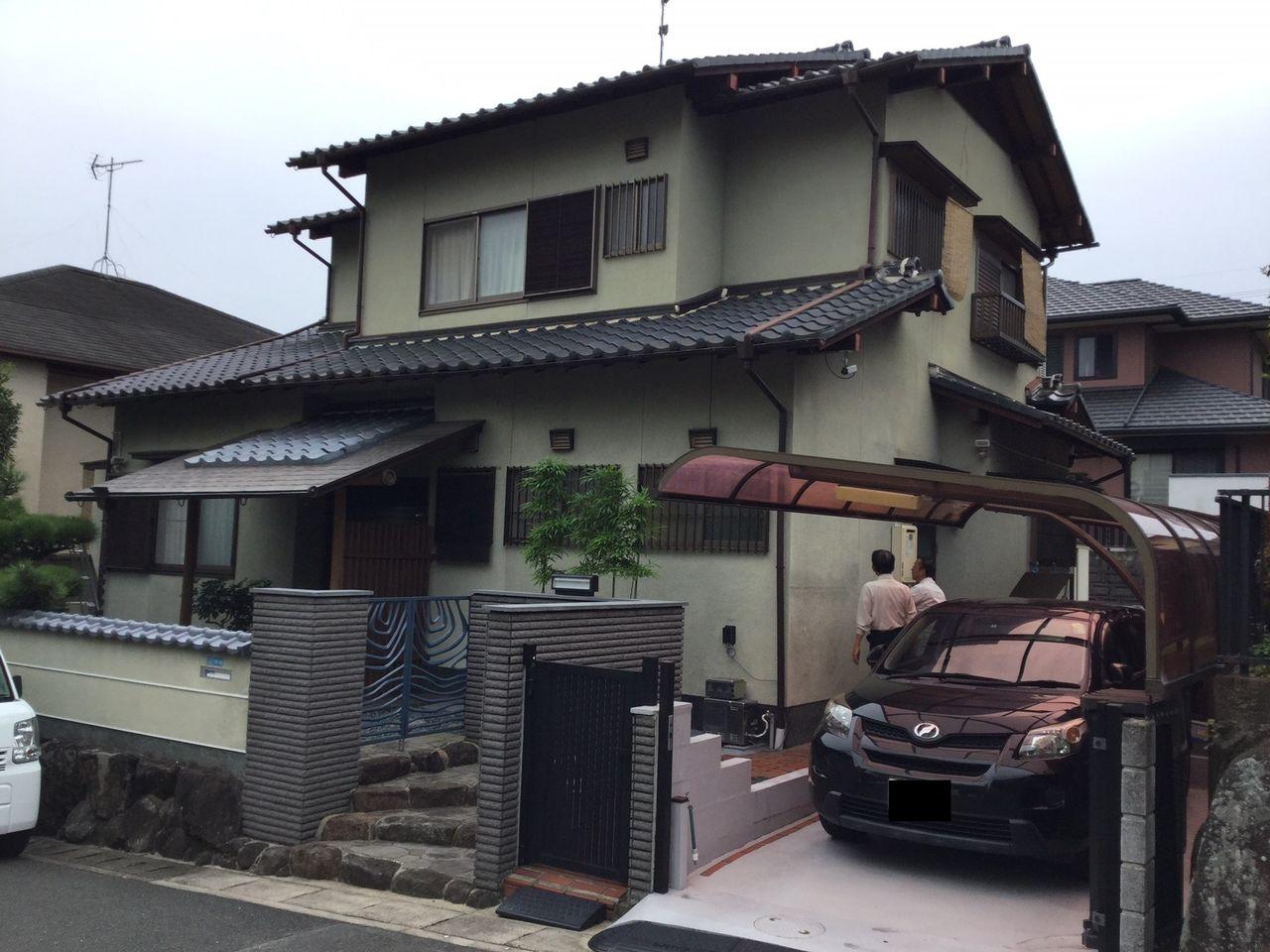 石井邸(奈良市)外観 施工前
