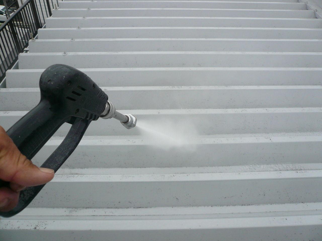 山口(城東)屋根洗浄