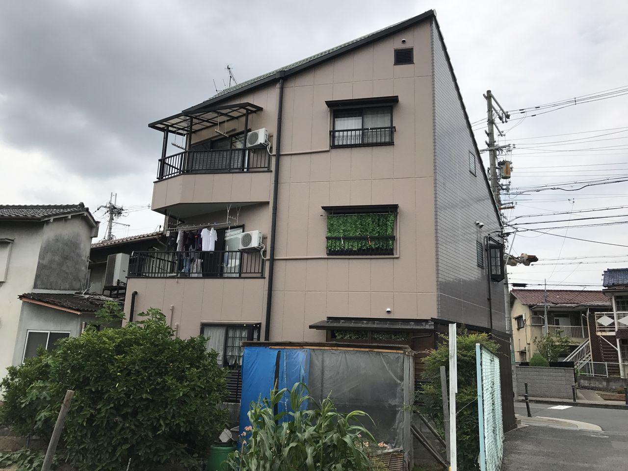 永田邸 河内長野市 外観 施工後 (2)