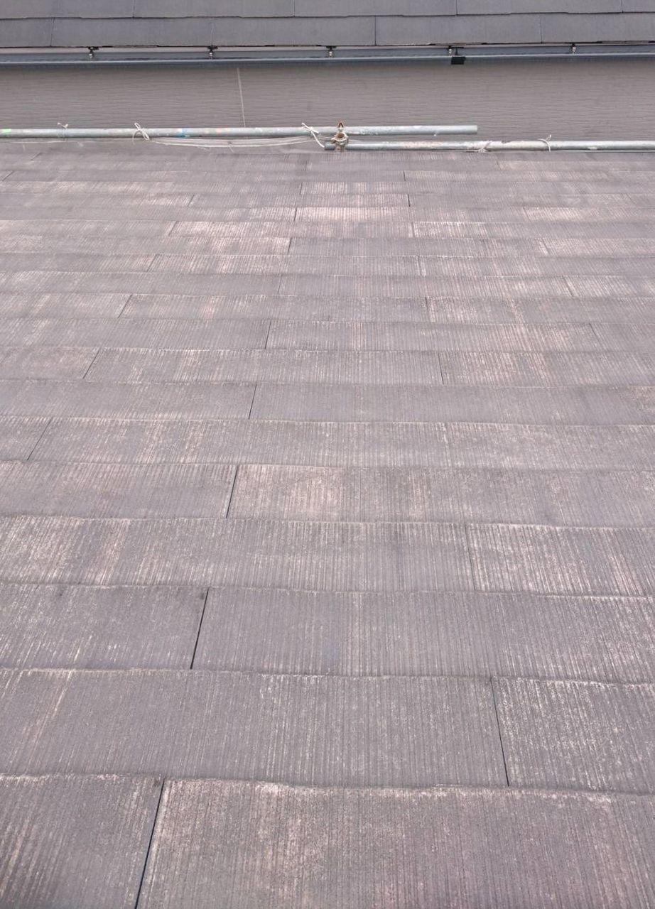 紙透邸屋根洗浄後トリミング後