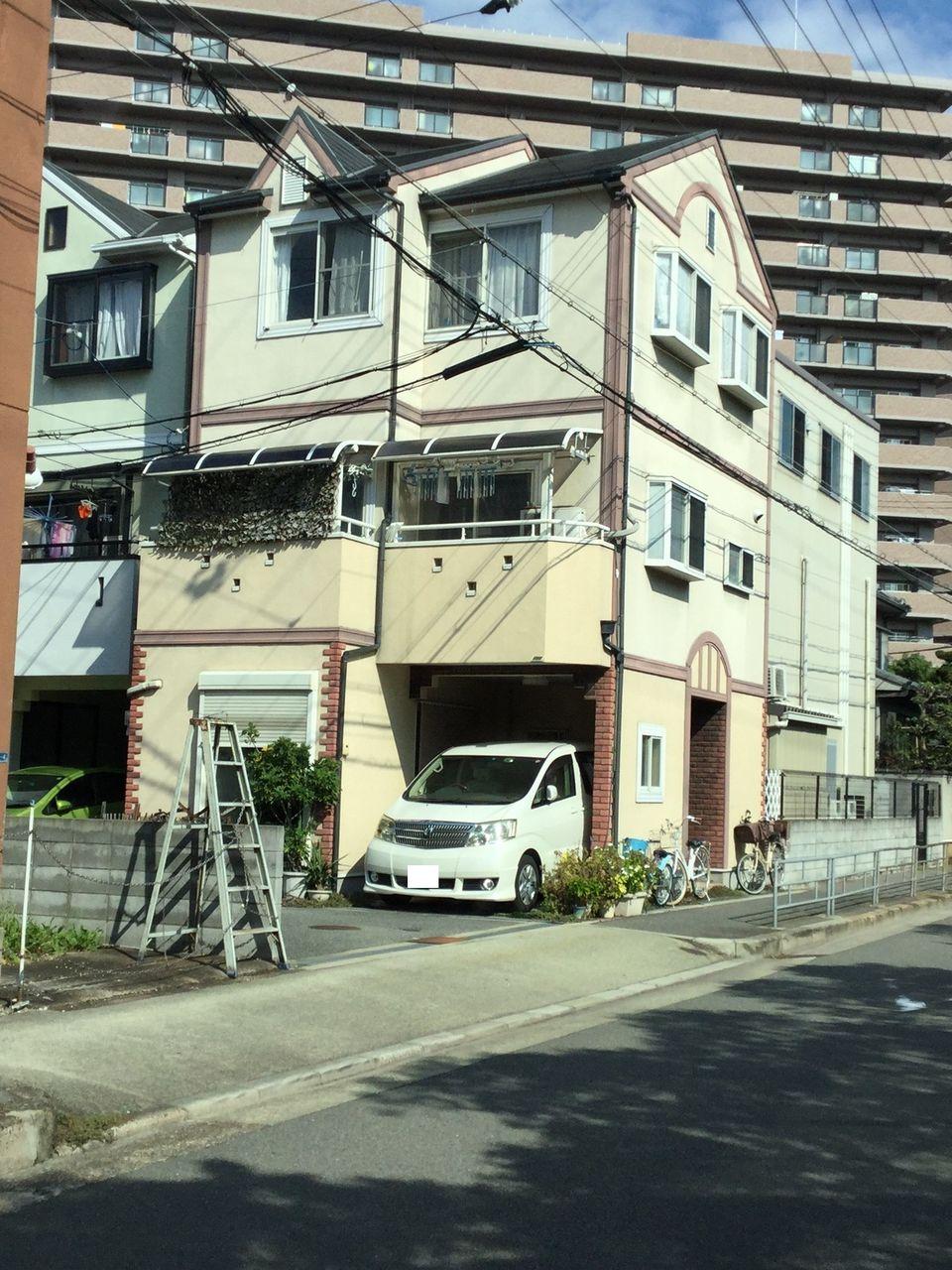 上田邸(西淀川区) 外観 施工前