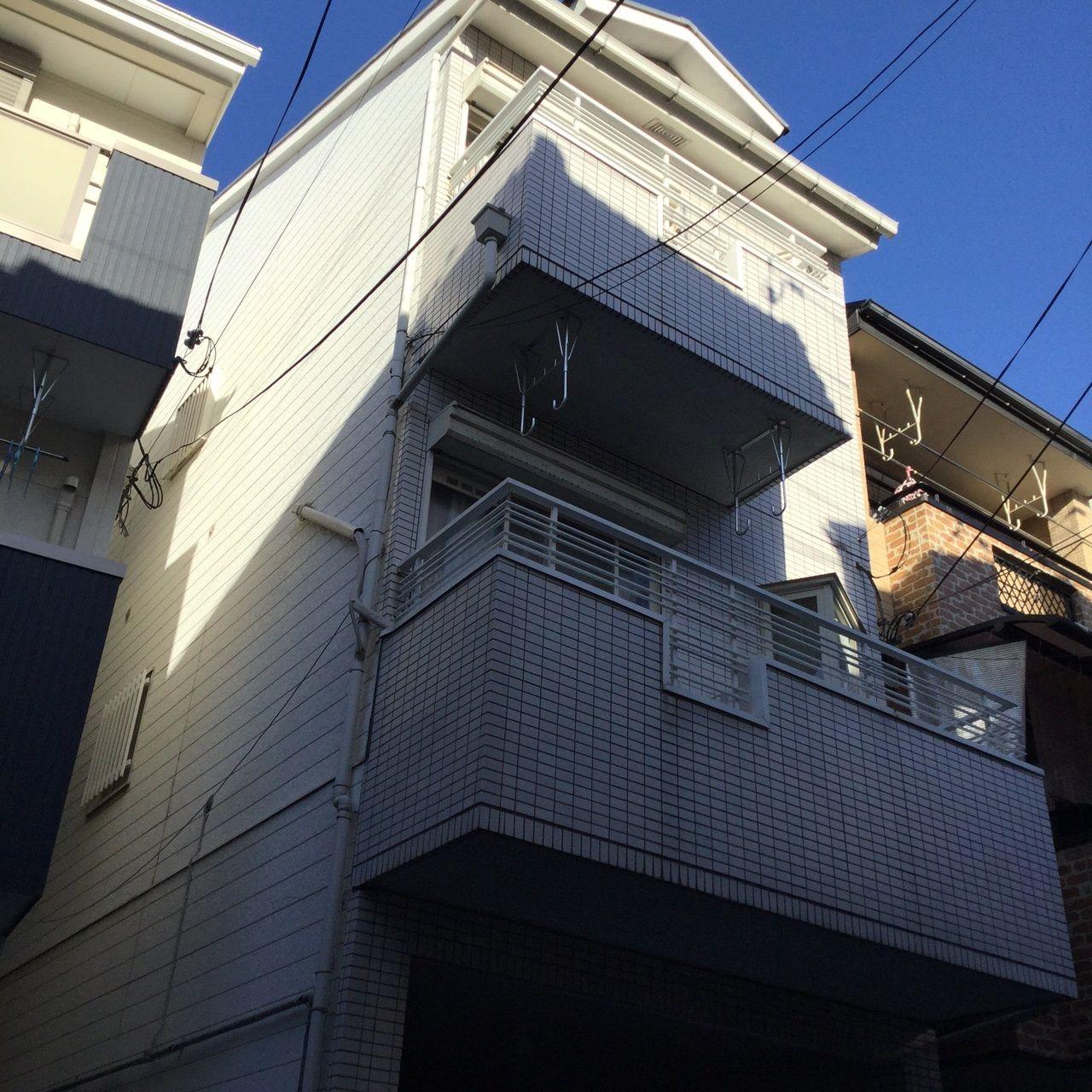 田中邸(平野区)外観 施工前