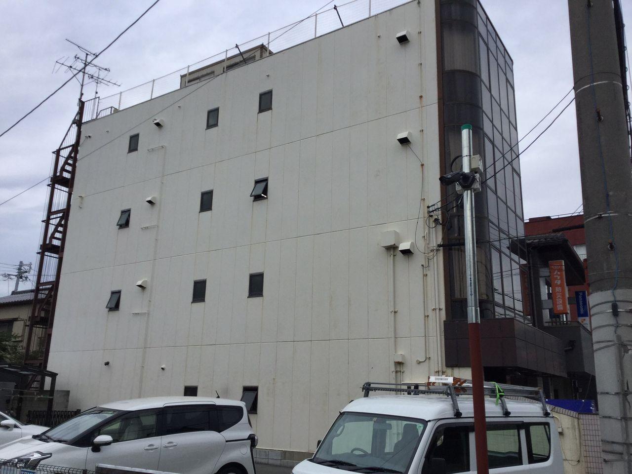 藤田(トーユー工業)尼崎市 外観 施工前