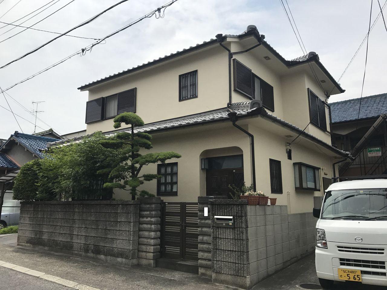 西口邸 河内長野市 外観 施工後 (1)